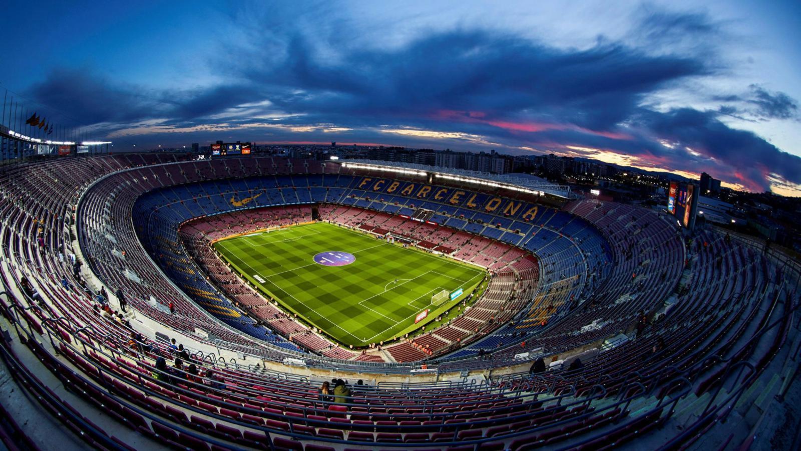El Camp Nou tindrà un cognom comercial per primer cop durant un any per ajudar en la lluita contra el coronavirus