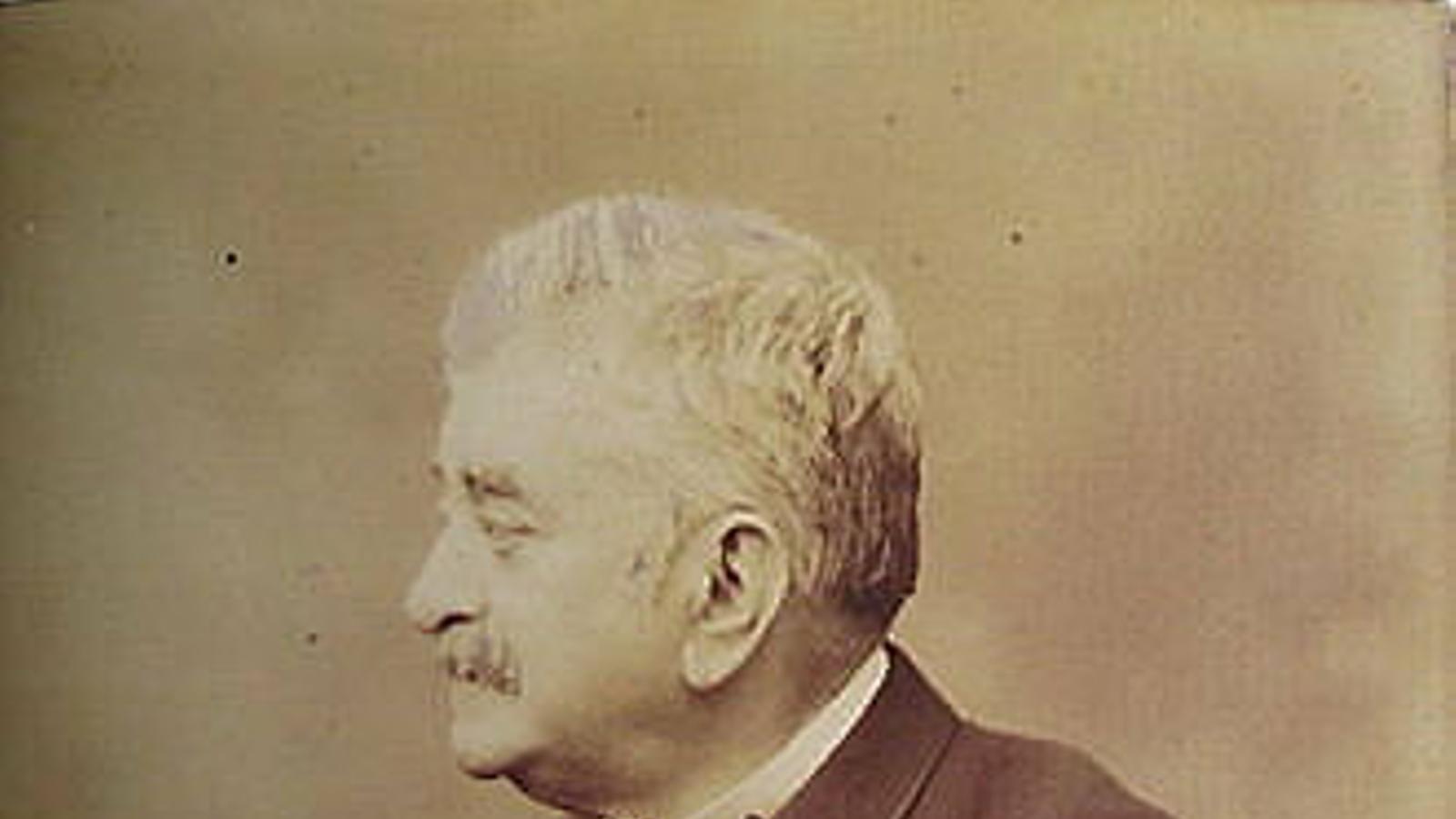 Evaristo Arnús, financiero  y mecenas (1890)