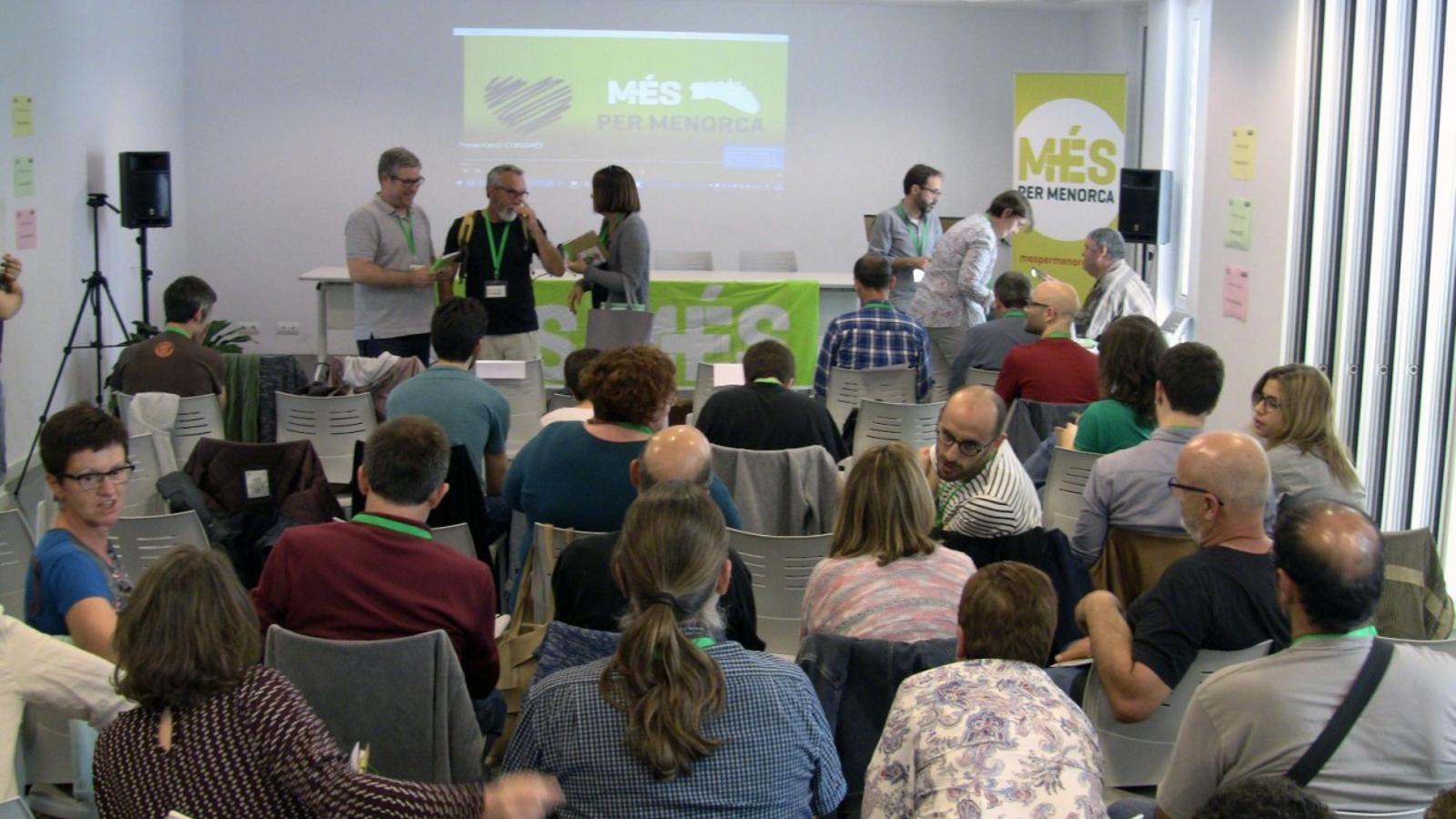 La formació menorquinista viu avui una jornada interna de democràcia que marcarà el futur polític pels pròxims 4 anys.