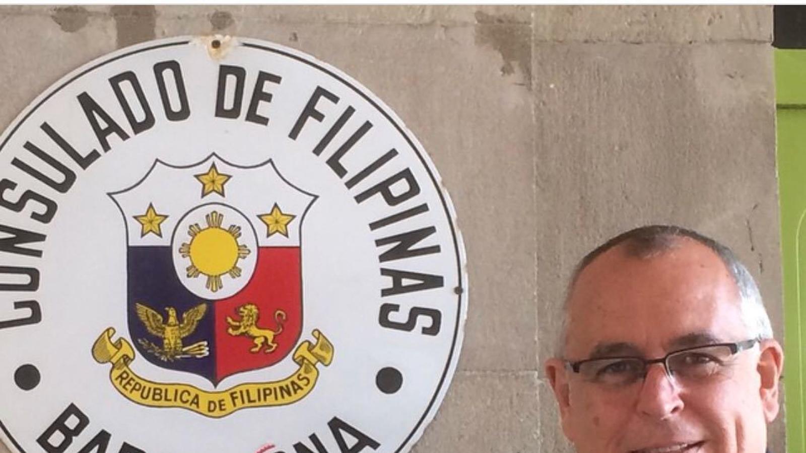 """Jordi Puig, cònsol de les Filipines, cessat per la pressió d'Espanya: """"Tots els cònsols estem en llistes ideològiques"""""""