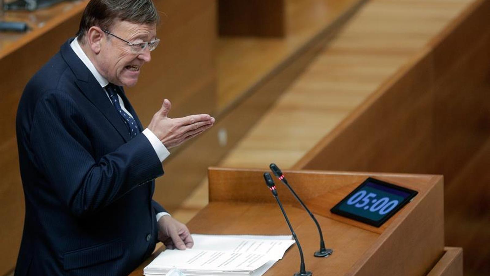 """Ximo Puig critica """"l'efecte capitalitat"""" de Madrid i demana una """"profunda reforma territorial d'Espanya"""""""