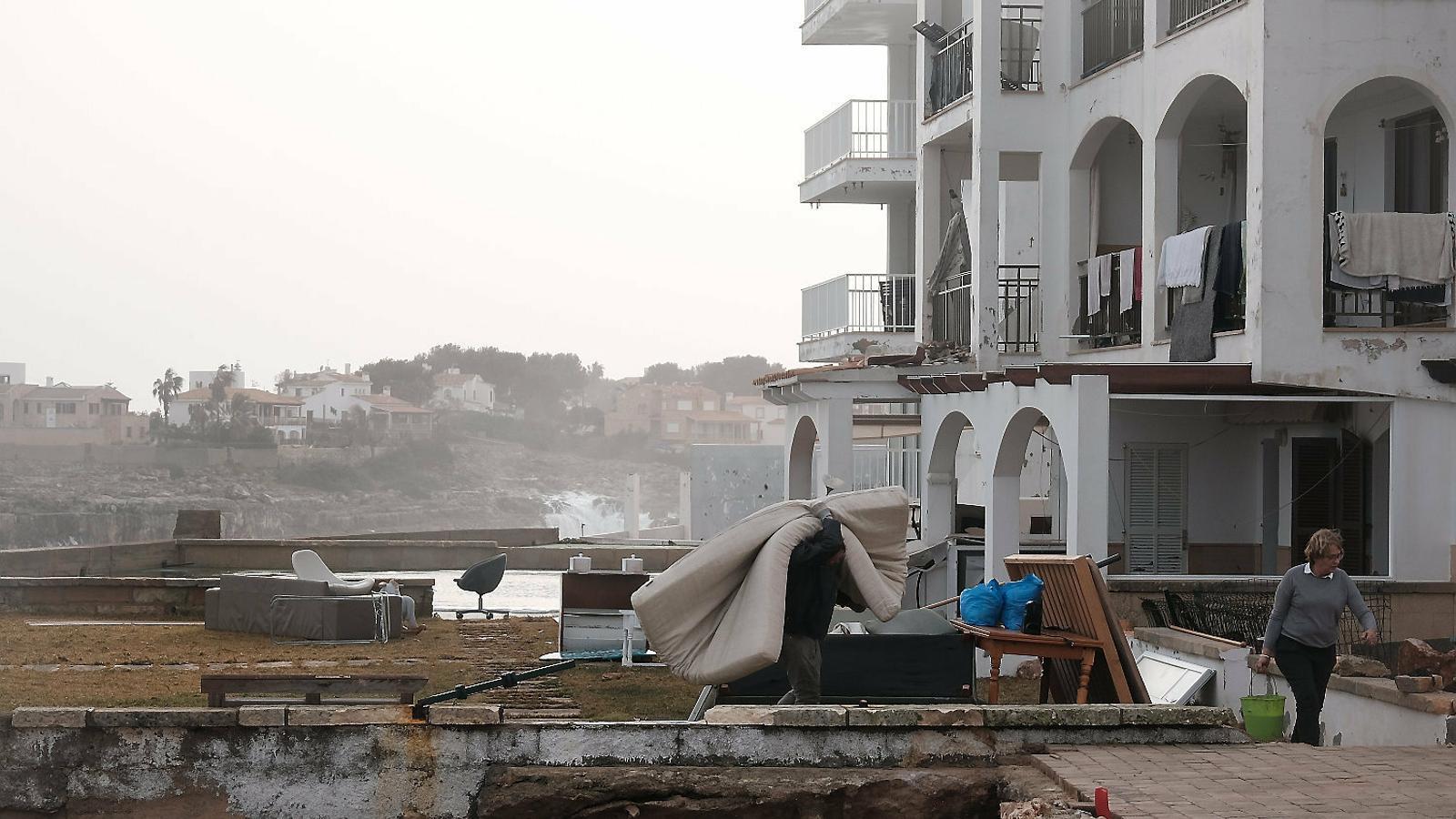 Els danys en infraestuctures causats per la borrasca Glòria a les Balears superen els 16 milions d'euros