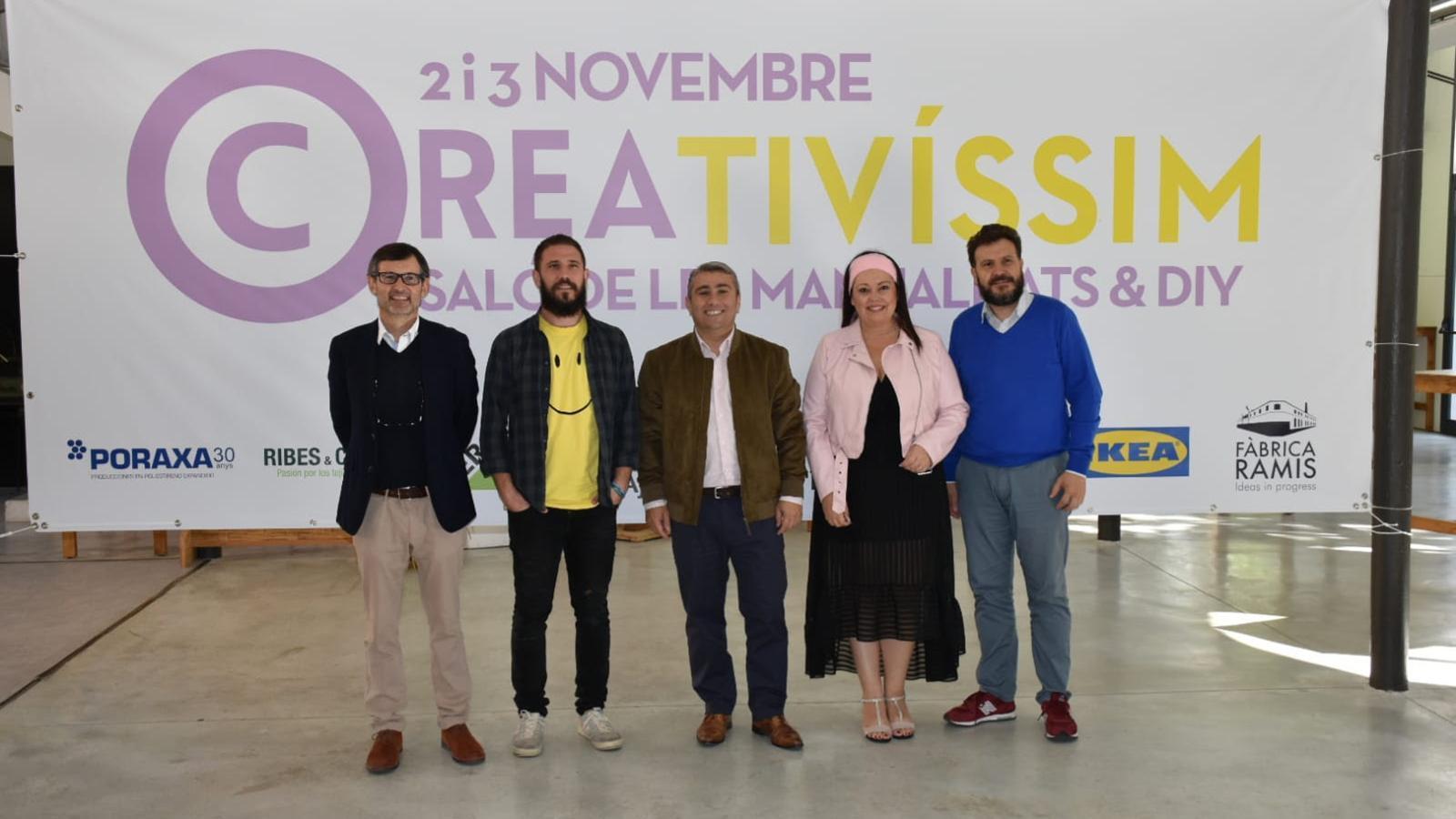 Presentació del Saló Creativíssim, que tindrà lloc a la Fàbrica  Ramis.