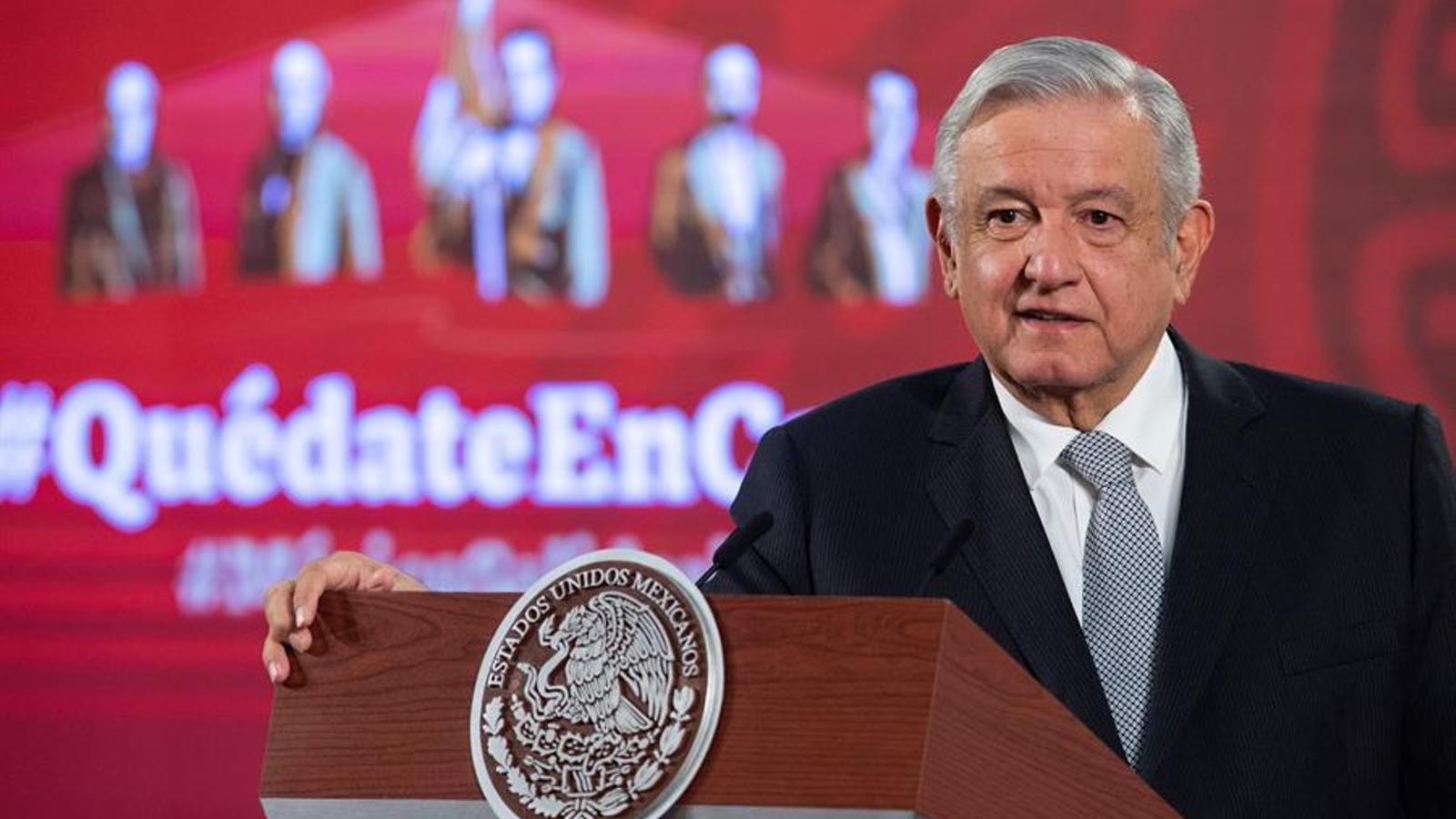 """Crítiques al president mexicà per dir sense proves que el 90% de les denúncies de violència masclista són """"falses"""""""