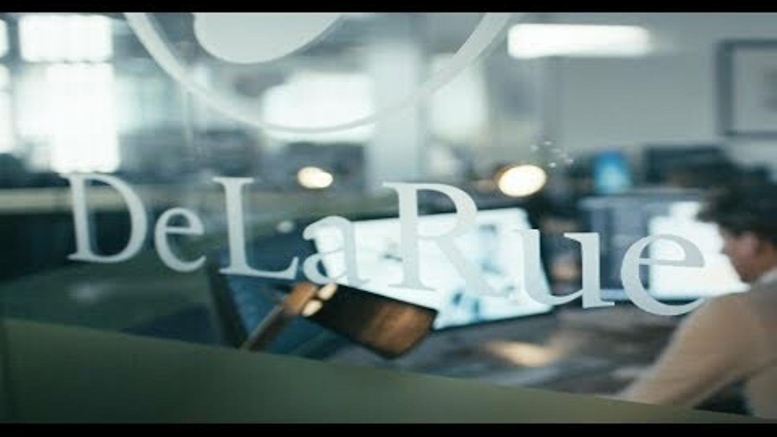 Vídeo promocional de De la Rue