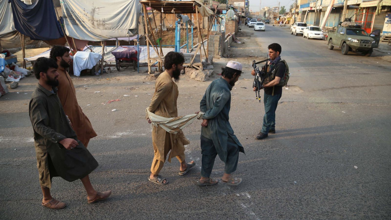 Alguns dels reclusos que han fugit i que han tornat a ser enxampats per les forces de seguretat