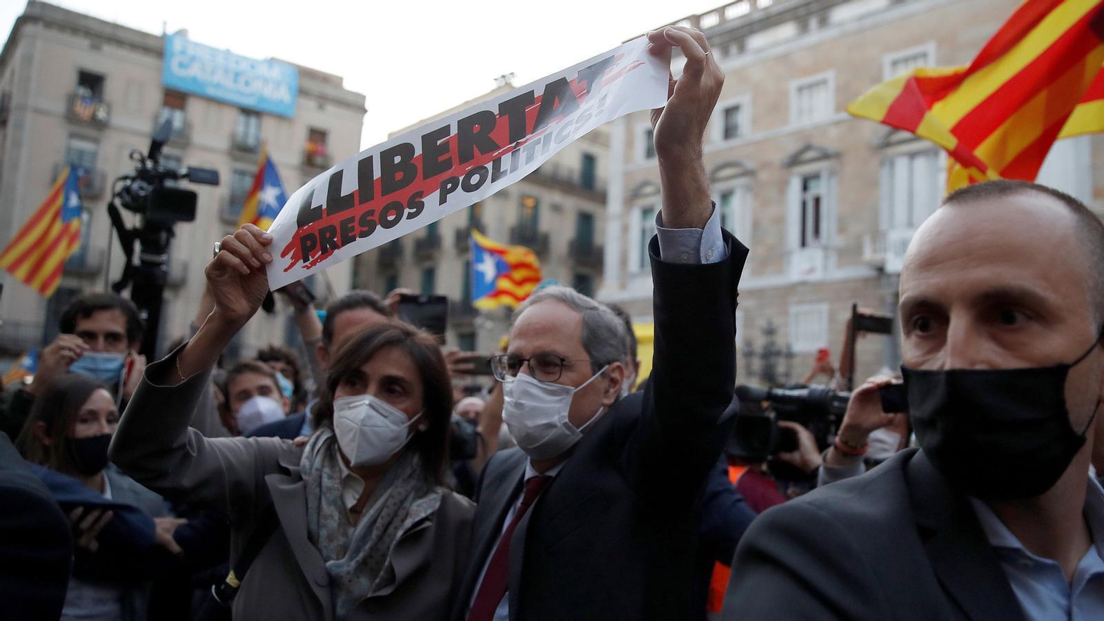 Quim Torra, inhabilitat, visita els presos polítics i preacord per estirar els ERTO fins al 31 de gener: les claus del dia, amb Antoni Bassas (29/09/2020)