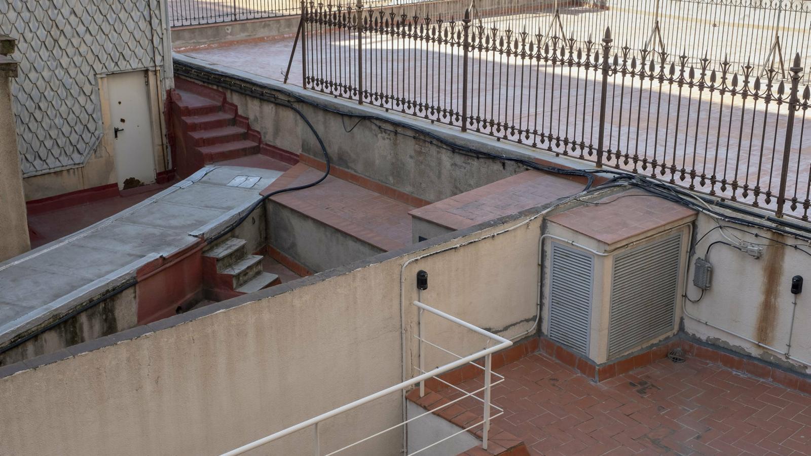 La lletrada que escalava teulades i terrats d'1,40 metres