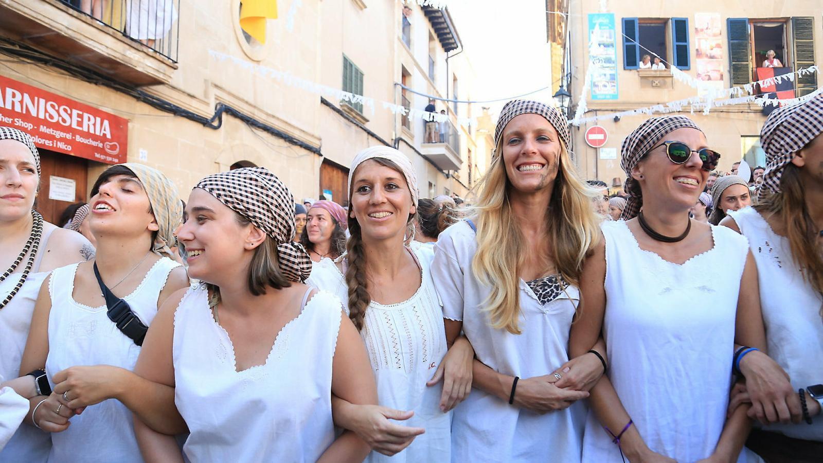 La política impregna les  Festes populars De Mallorca