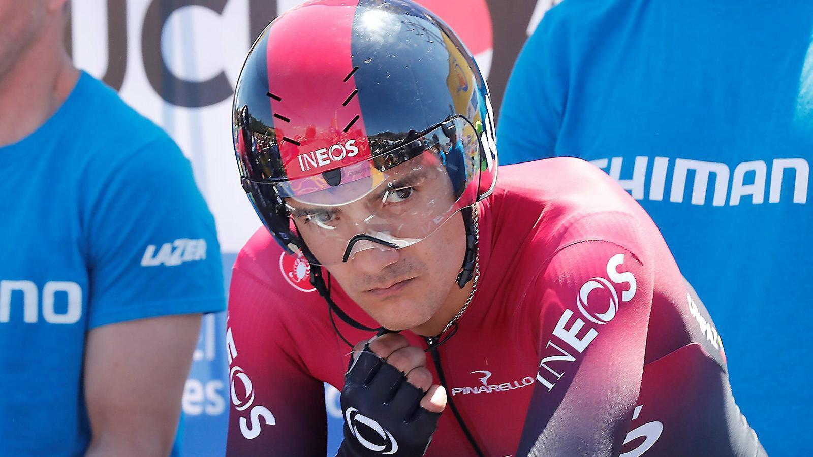 Carapaz, aquí en una imatge recent, va guanyar l'últim Giro.