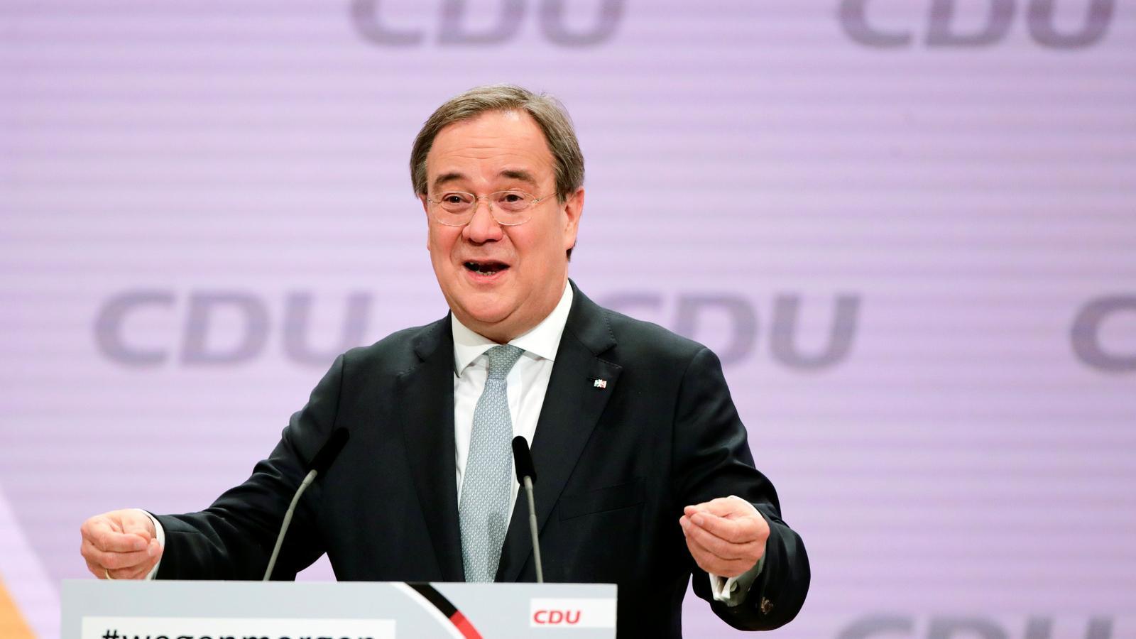 Armin Laschet, nou president de la CDU