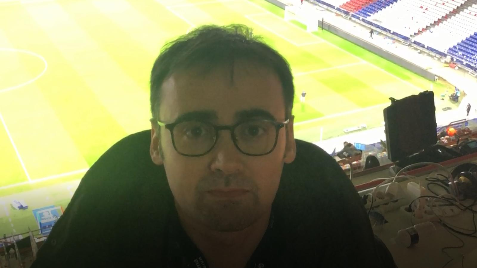 La crònica del Lió-Barça en un minut, de Toni Padilla