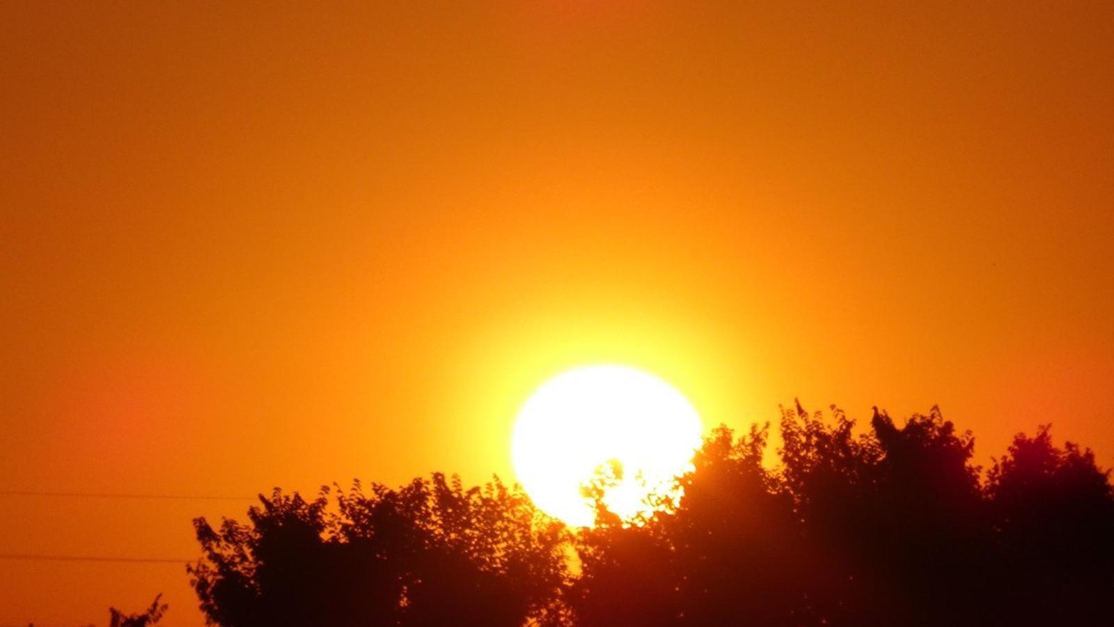 Una altra dada inèdita: més de 35 graus a Lleida en un dia de maig