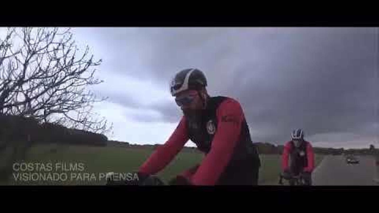 El vídeo de l'accident del Dani Rovira.