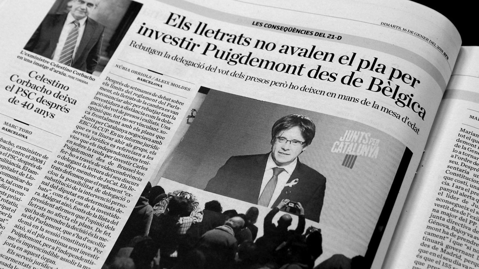L'anàlisi d'Antoni Bassas: 'Puigdemont i els seus votants, entre el dret i la necessitat'