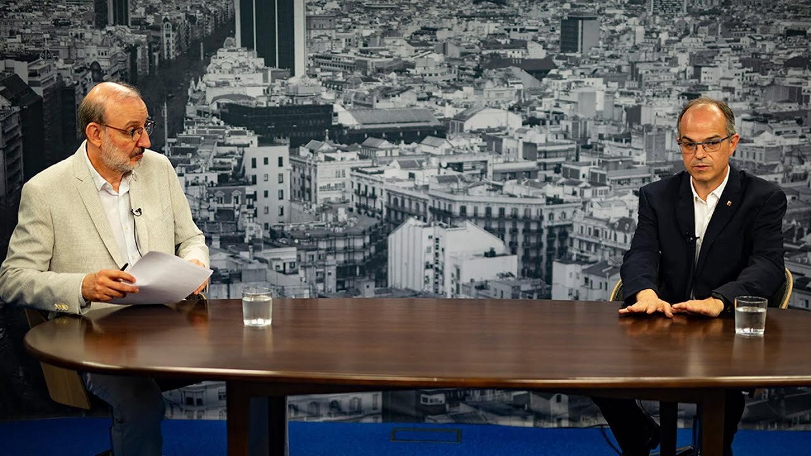 Entrevista d'Antoni Bassas a Jordi Turull