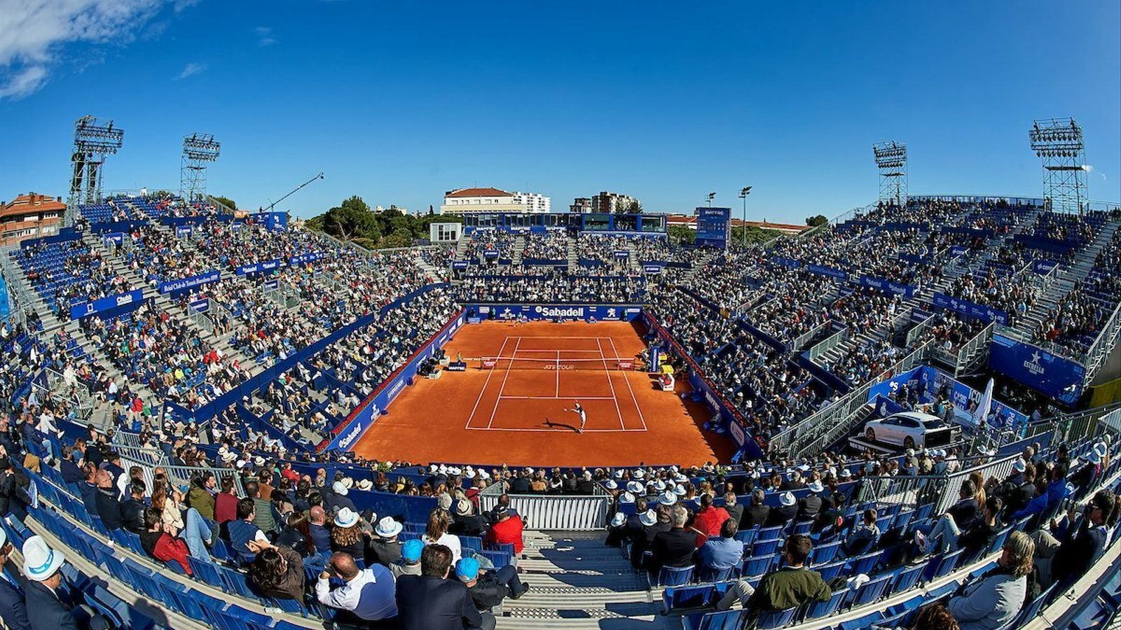 Les pista central del Godó barceloní durant l'edició del 2019