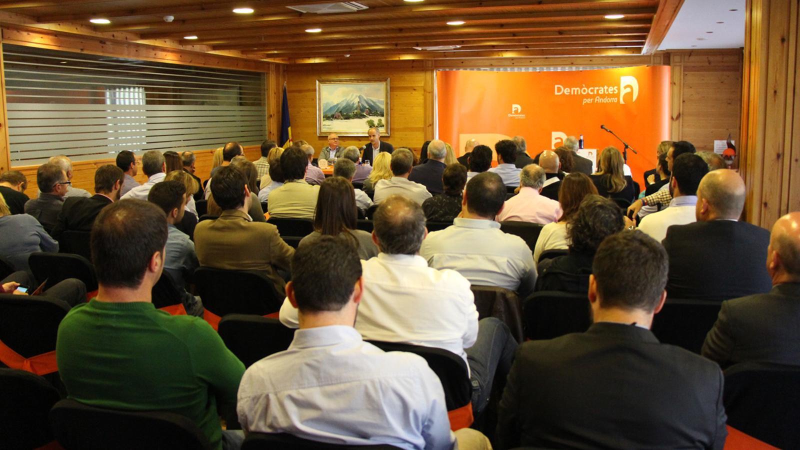 Un congrés de Demòcrates per Andorra / ANA
