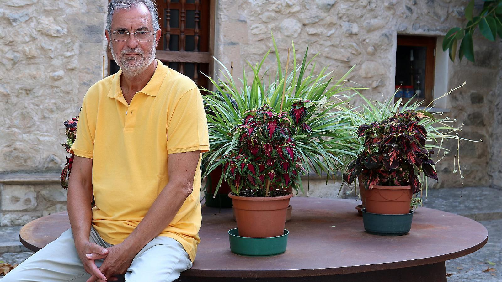 """PERE SAMPOL MAS: """"El sobiranisme a Mallorca ha crescut,  I molt"""""""