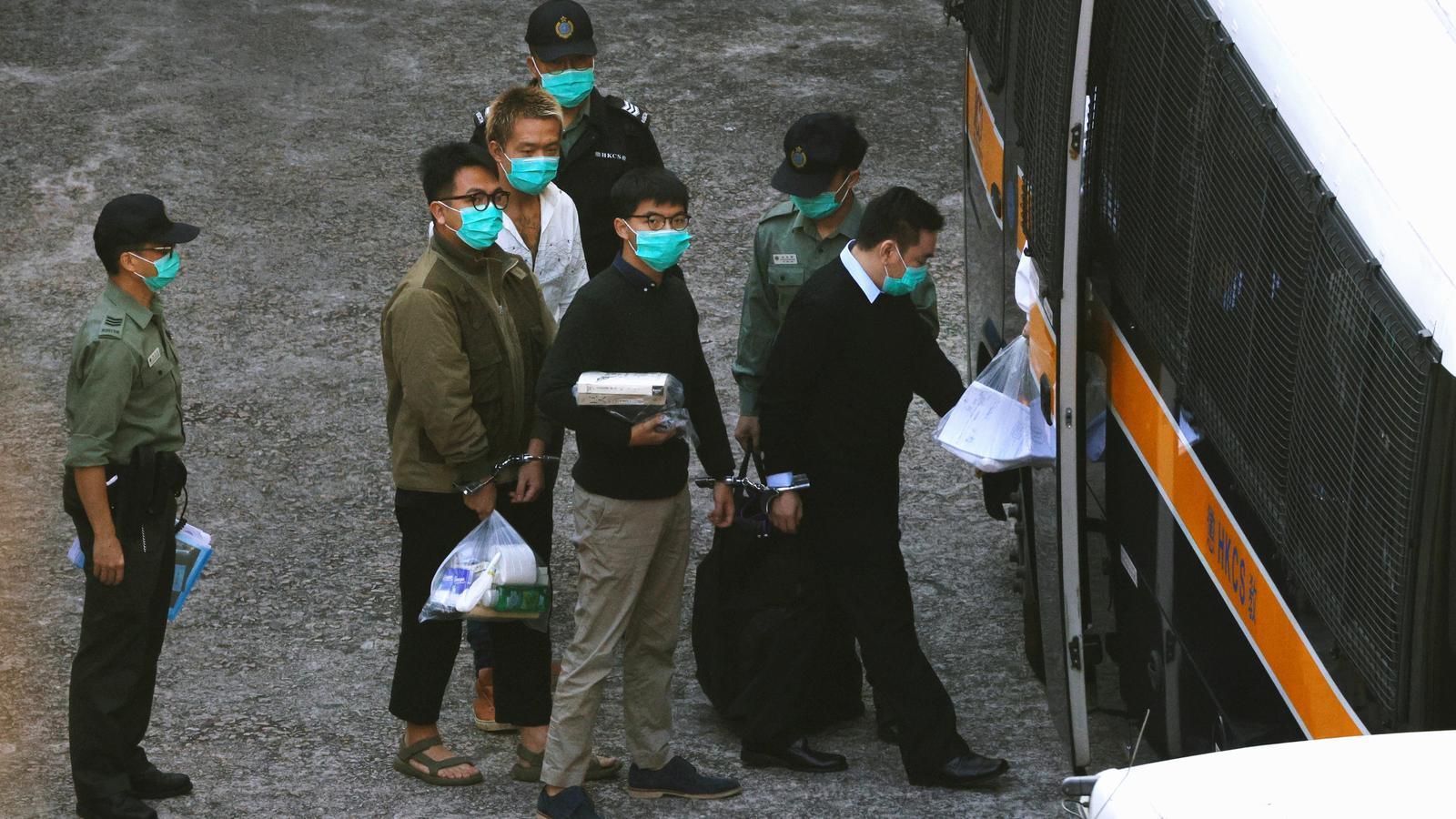 Activistes detinguts