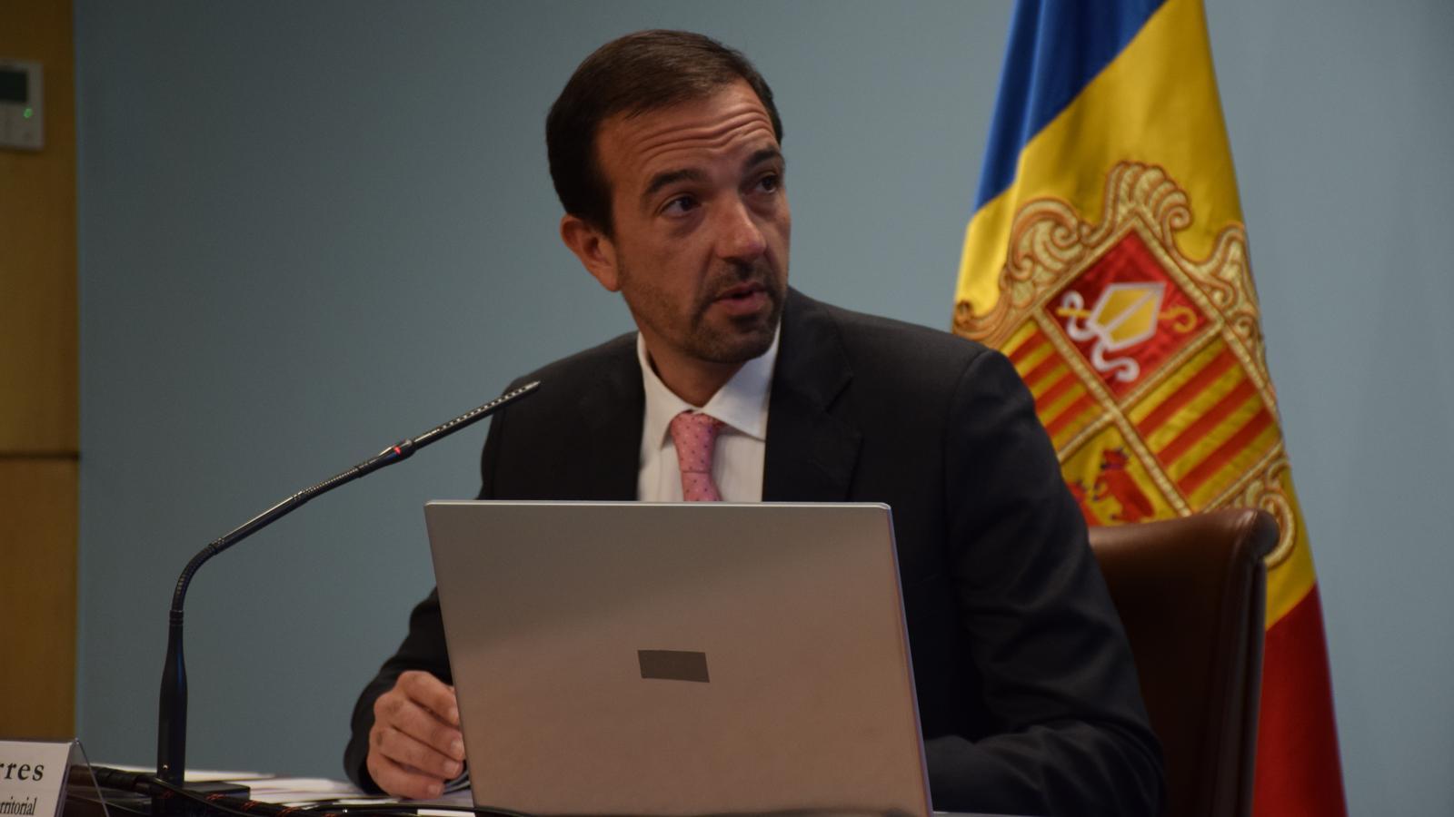 Jordi Torrres, ministre d'Ordenament Territorial. / M. R. F.