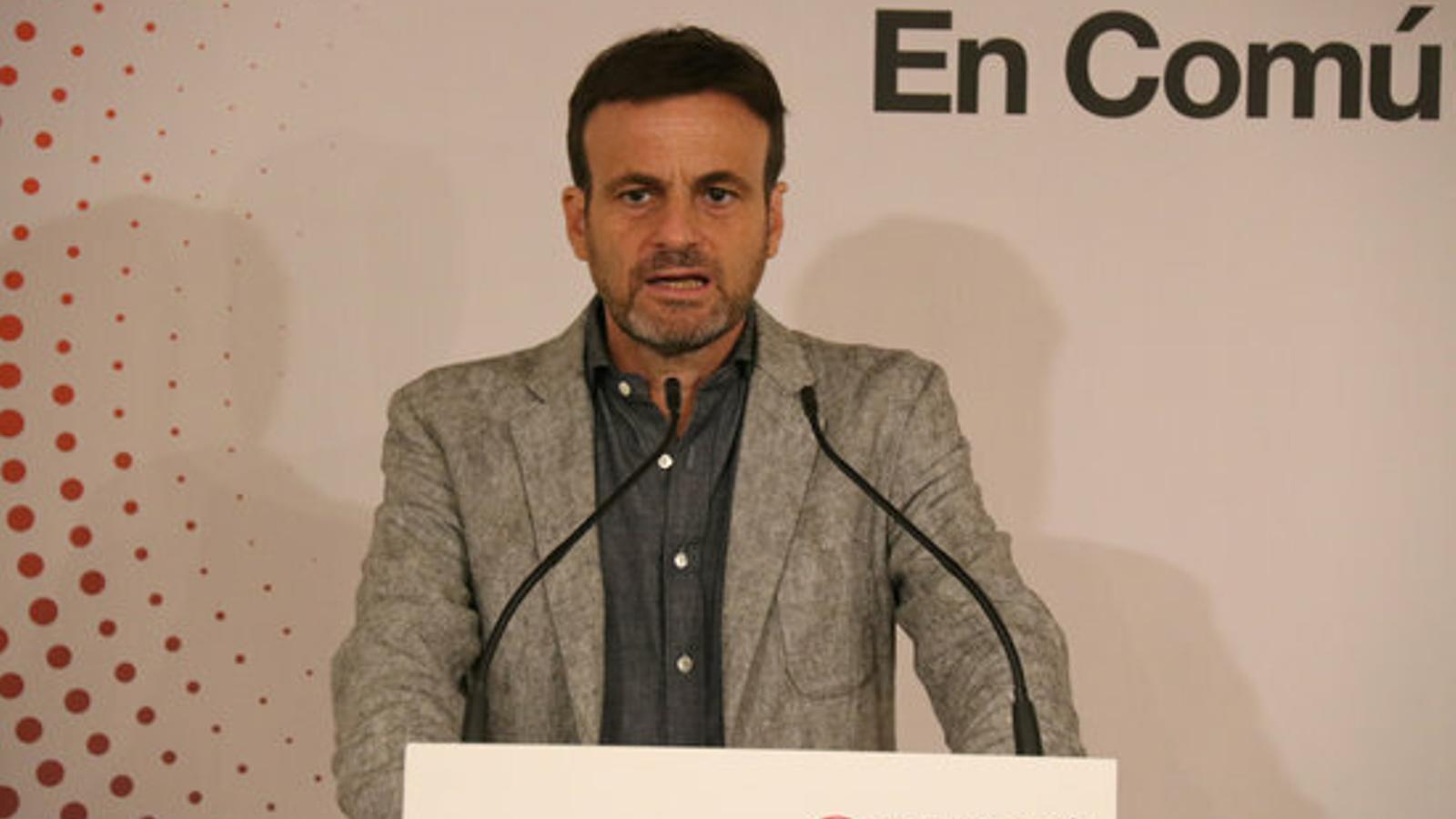 """Asens, a Iceta: """"L'únic 'pagafantes' a Catalunya és un PSC que només sap ballar al ritme del 155 de Sánchez"""""""