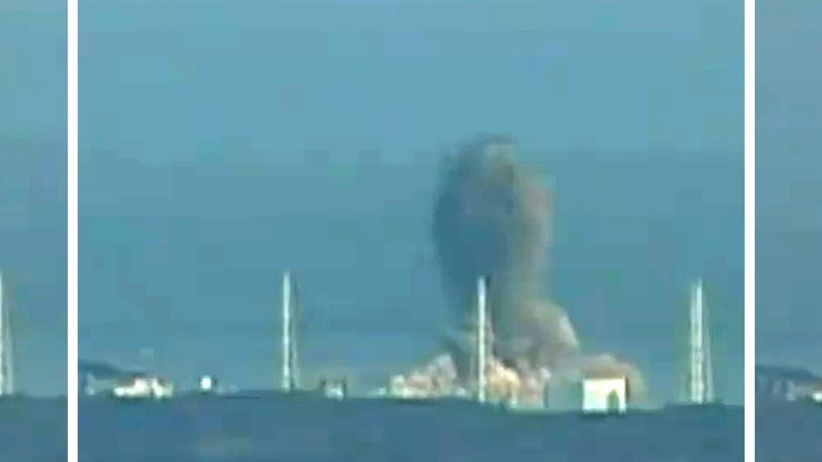 Segona explosió a la central nuclear de Fukushima I