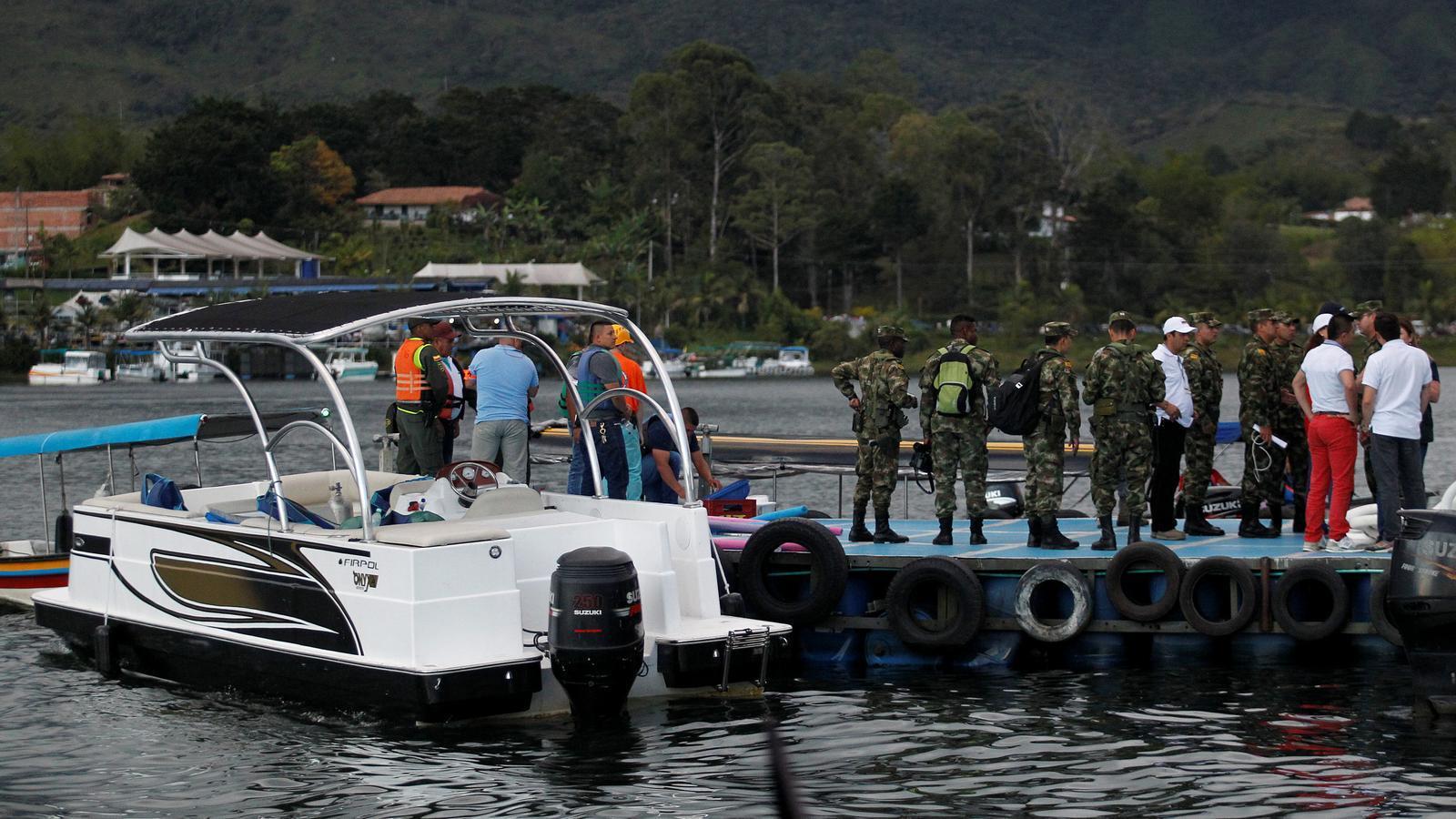 """Naufragi de l'embarcació """"El Almirante"""" a Colòmbia"""