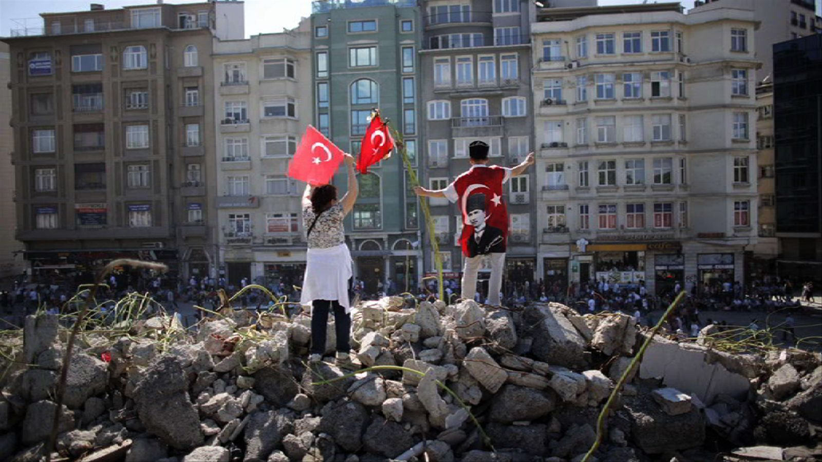 Els turcs de Barcelona, amb els manifestants de Taksim: És una lluita social que supera la por