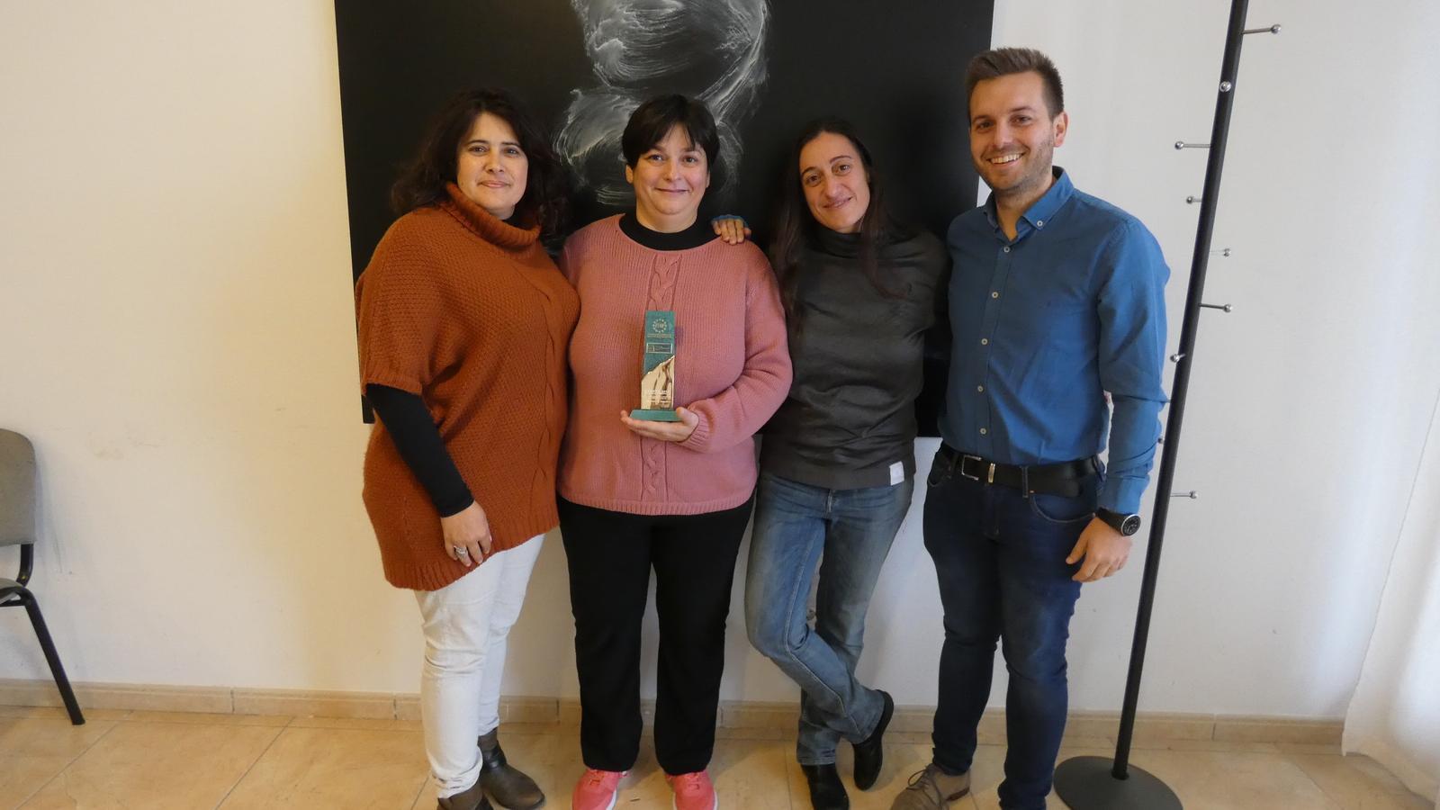 L'entrega del guardó va tenir lloc el passat dijous dia 30 a l'Auditorio de la Secretaria General de Cultura (Madrid), on l'Ajuntament va poder exposar el projecte guanyador