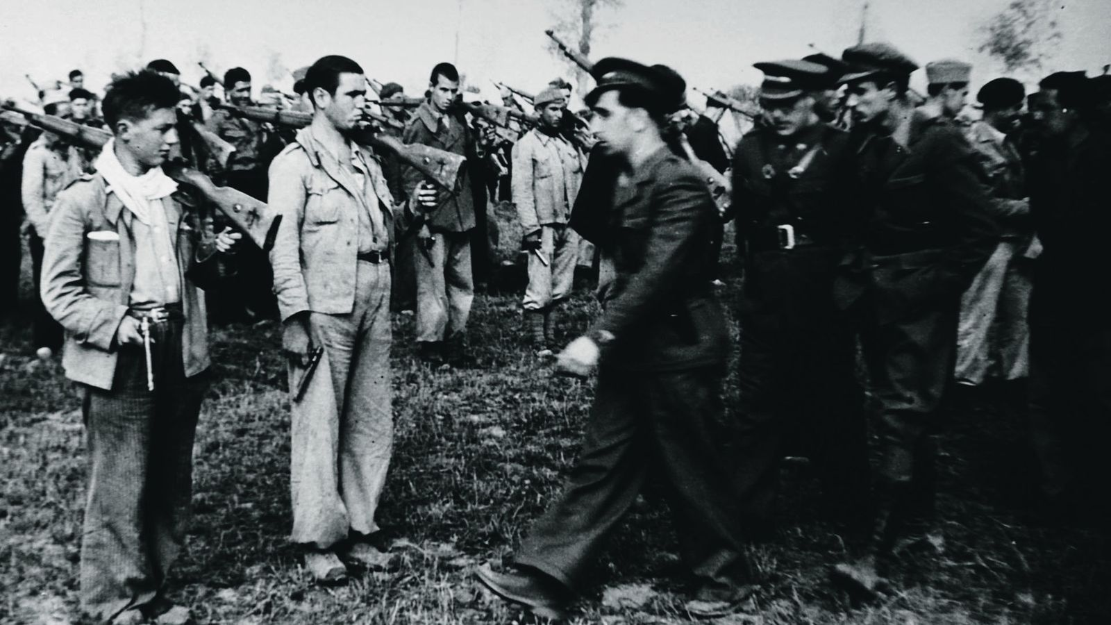 Joves soldats del bàndol republicà