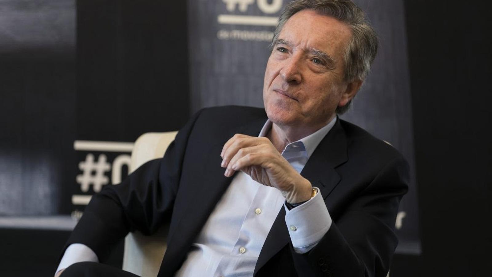 Iñaki Gabilondo vol explicar Espanya amb 'La vista atrás'