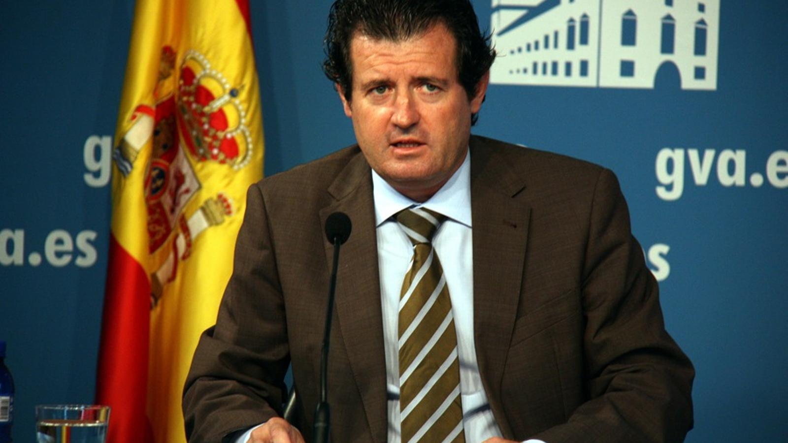 El vicepresident, José Ciscar, informa del temes tractats en la reunió del govern / ACN