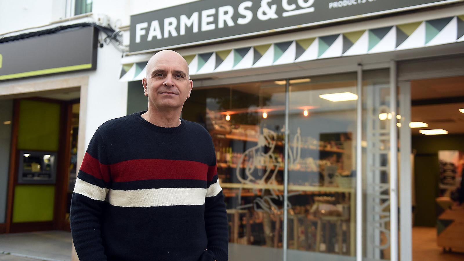 El director comercial i impulsor del rellançament del producte local menorquí és Tolo Mercadal.