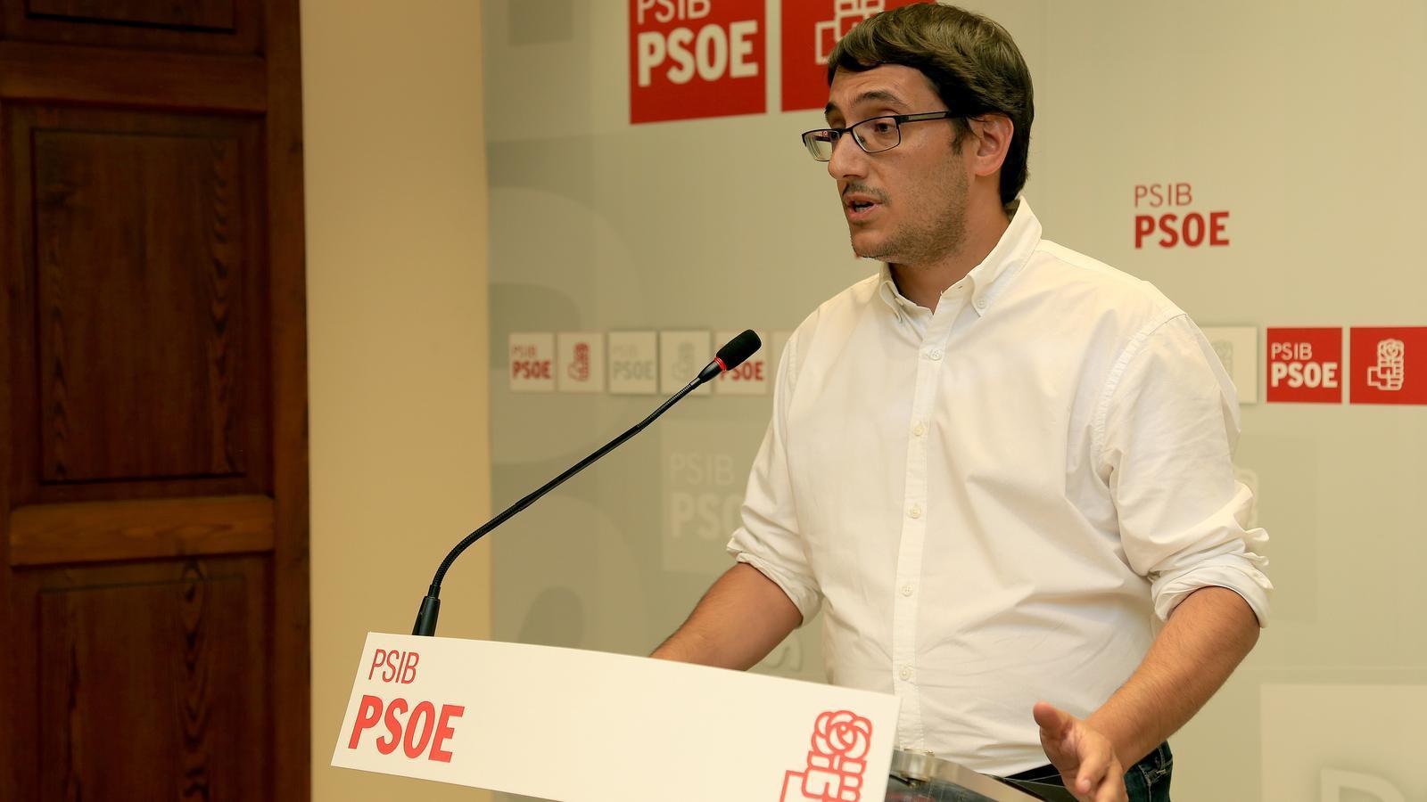 Elportaveu del PSIB, Iago Negueruela