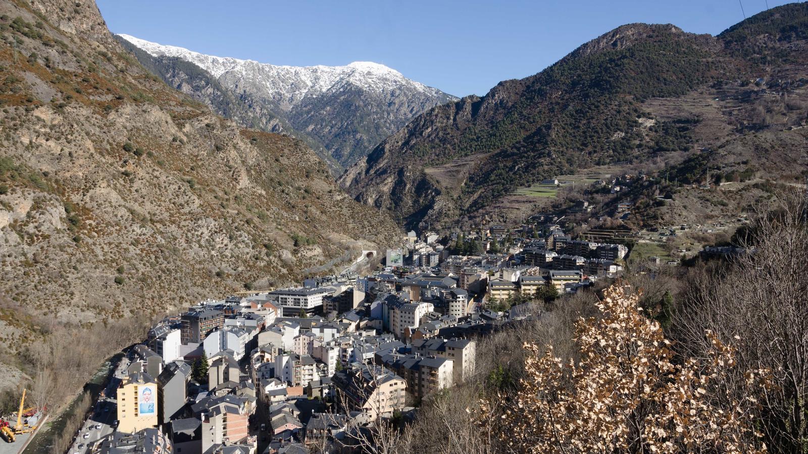 Una vista del poble de Sant Julià. / ARXIU ANA