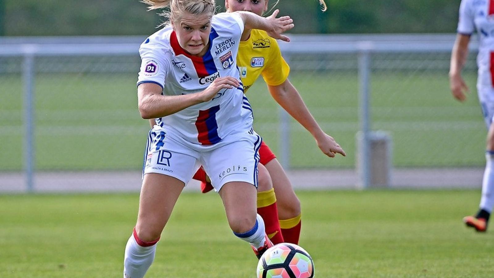 La noruega Ada Hegerberg ha fet 13 gols en quatre partits de Champions i està a dos de superar el rècord de la competició en un mateix any.