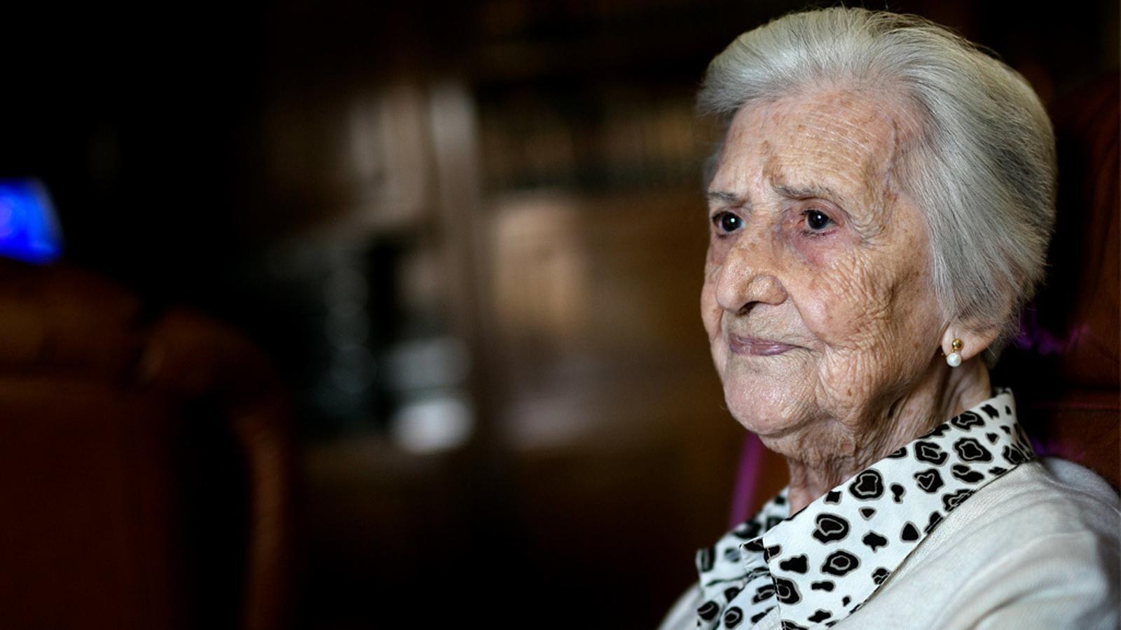 Entrevista d'Antoni Bassas a Carmen de Soria