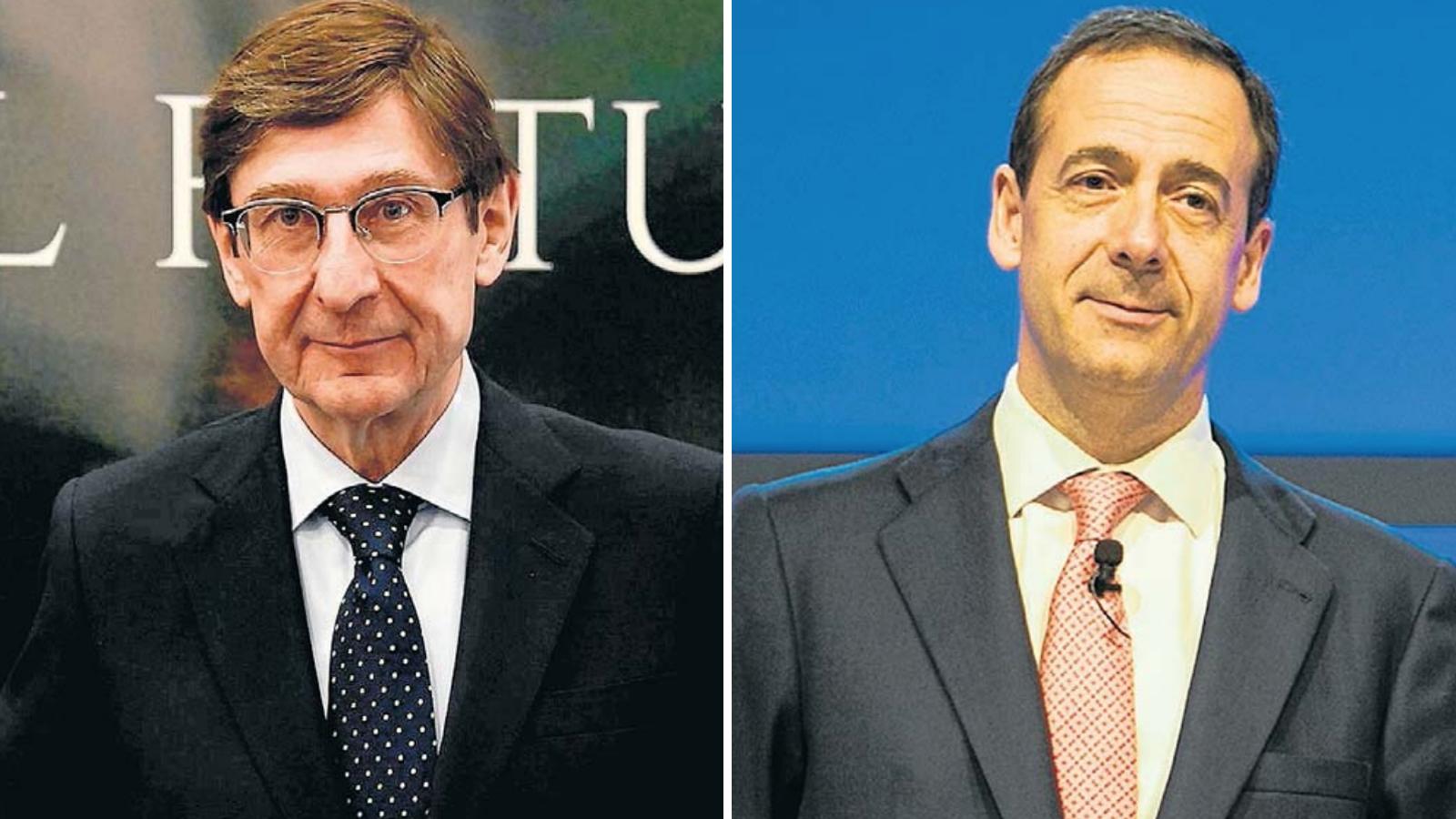 El president de Bankia i el conseller delegat de CaixaBank