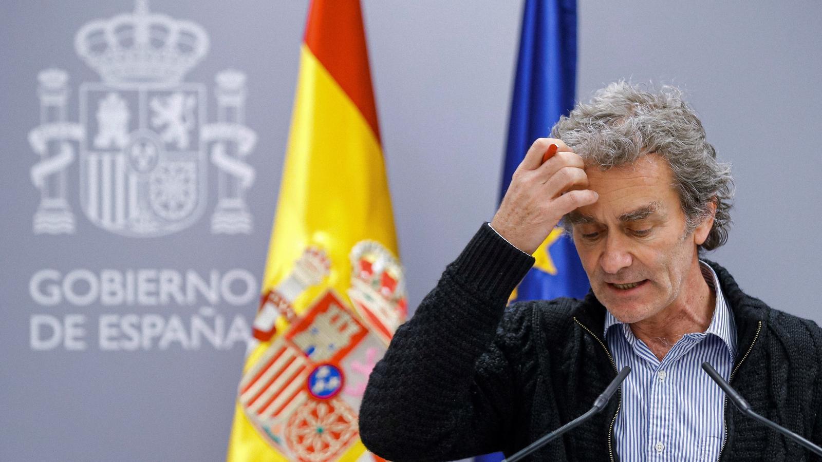EN DIRECTE | Fernando Simón informa sobre la tercera onada del covid-19 a l'Estat