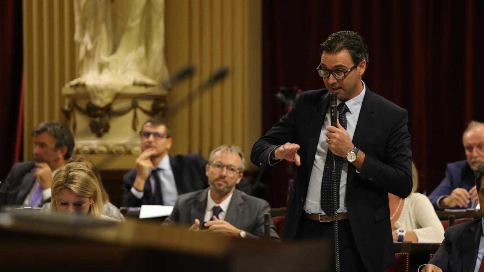 El portaveu adjunt del PP en el Parlament, Toni Costa