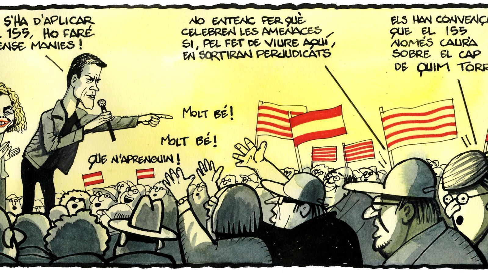 'A la contra', per Ferreres 24/04/2019
