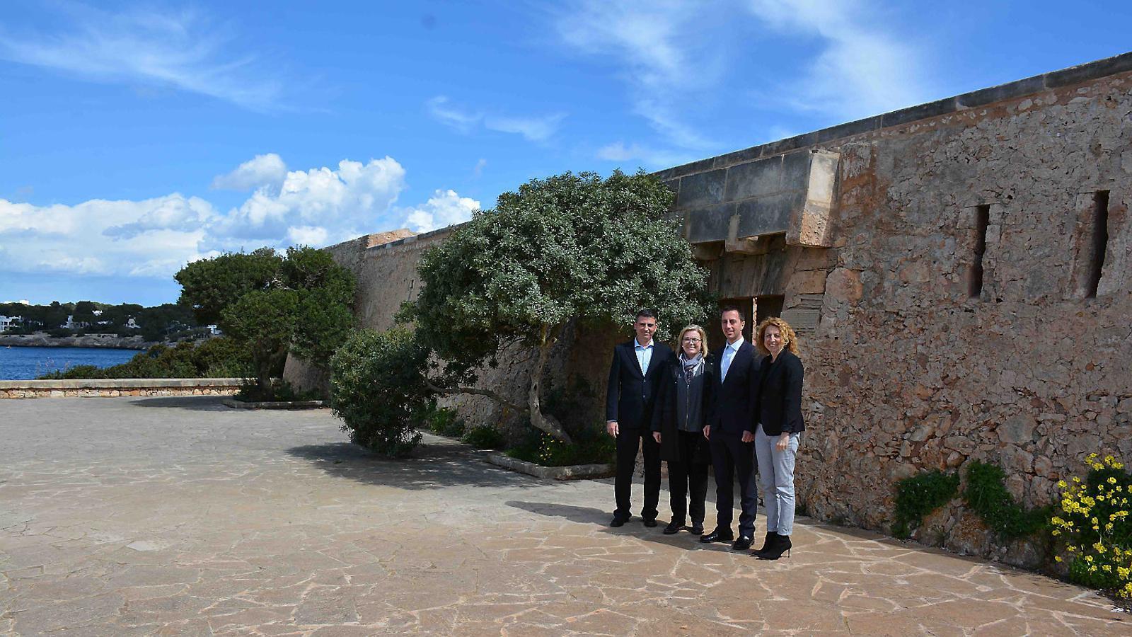 Santanyí demana l'obertura al públic del Fortí de Cala d'Or