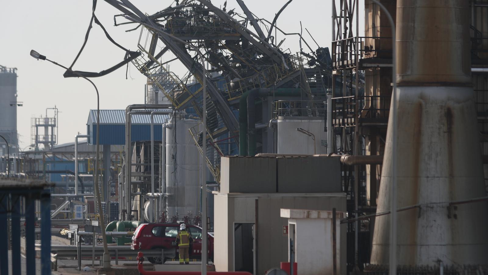 Troben mort el treballador desaparegut arran de l'explosió de Tarragona