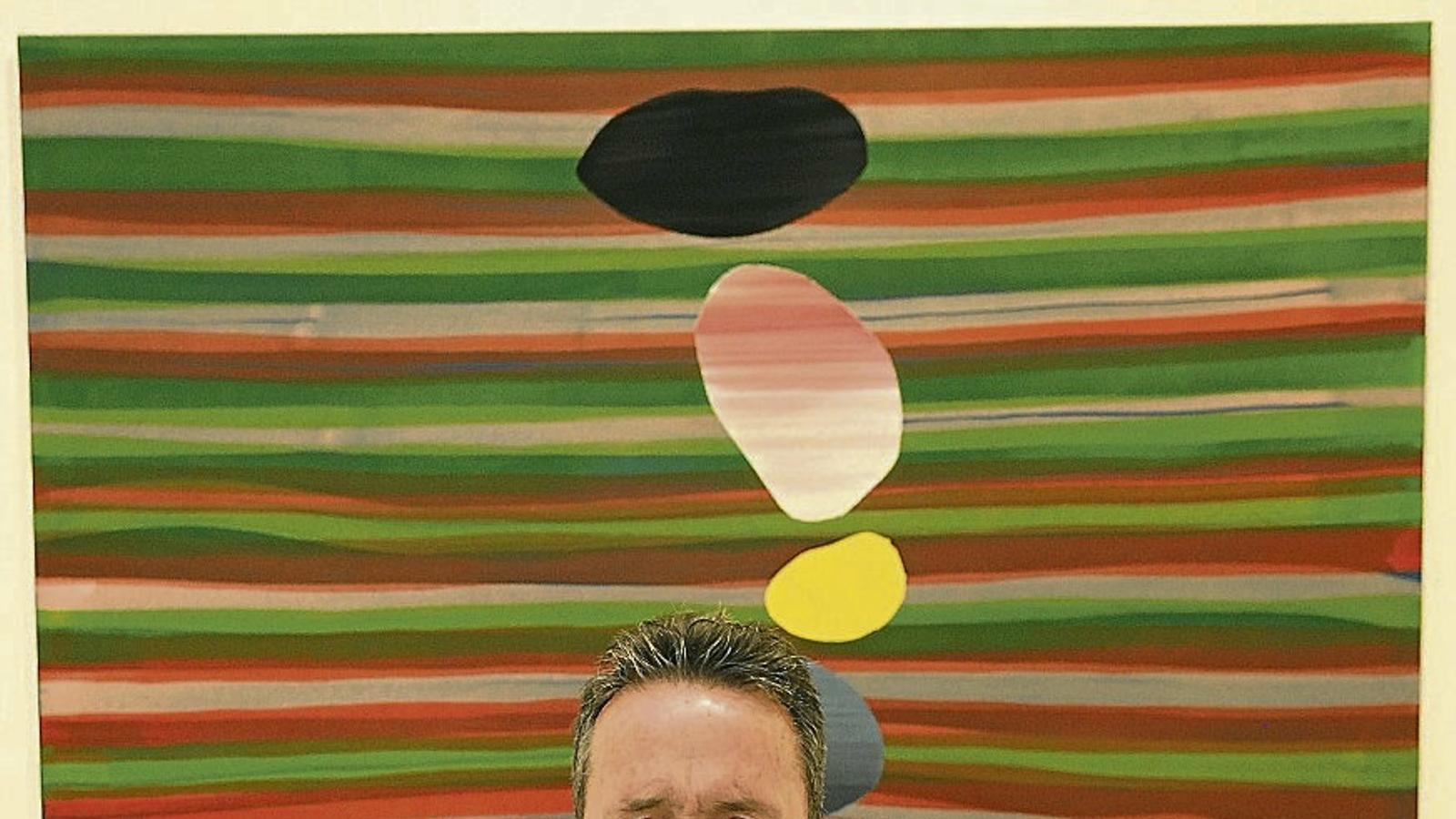 Broto, que presenta les seves Geologías a la galeria Maior de Palma, sempre ha estat un defensor de la pintura-pintura.