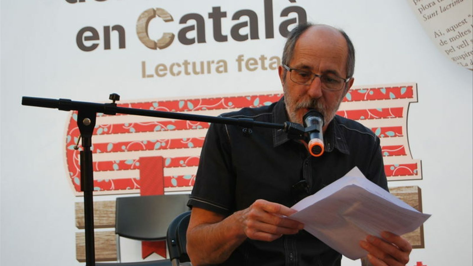 Josep Maria Aloy, escriptor i crític de literatura i infantil i juvenil