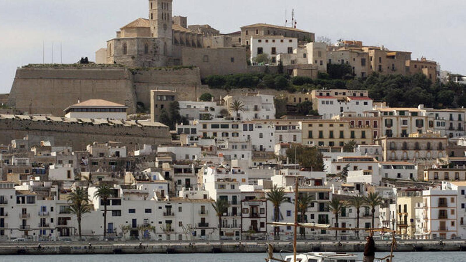 Imatge de Dalt Vila, a Eivissa.