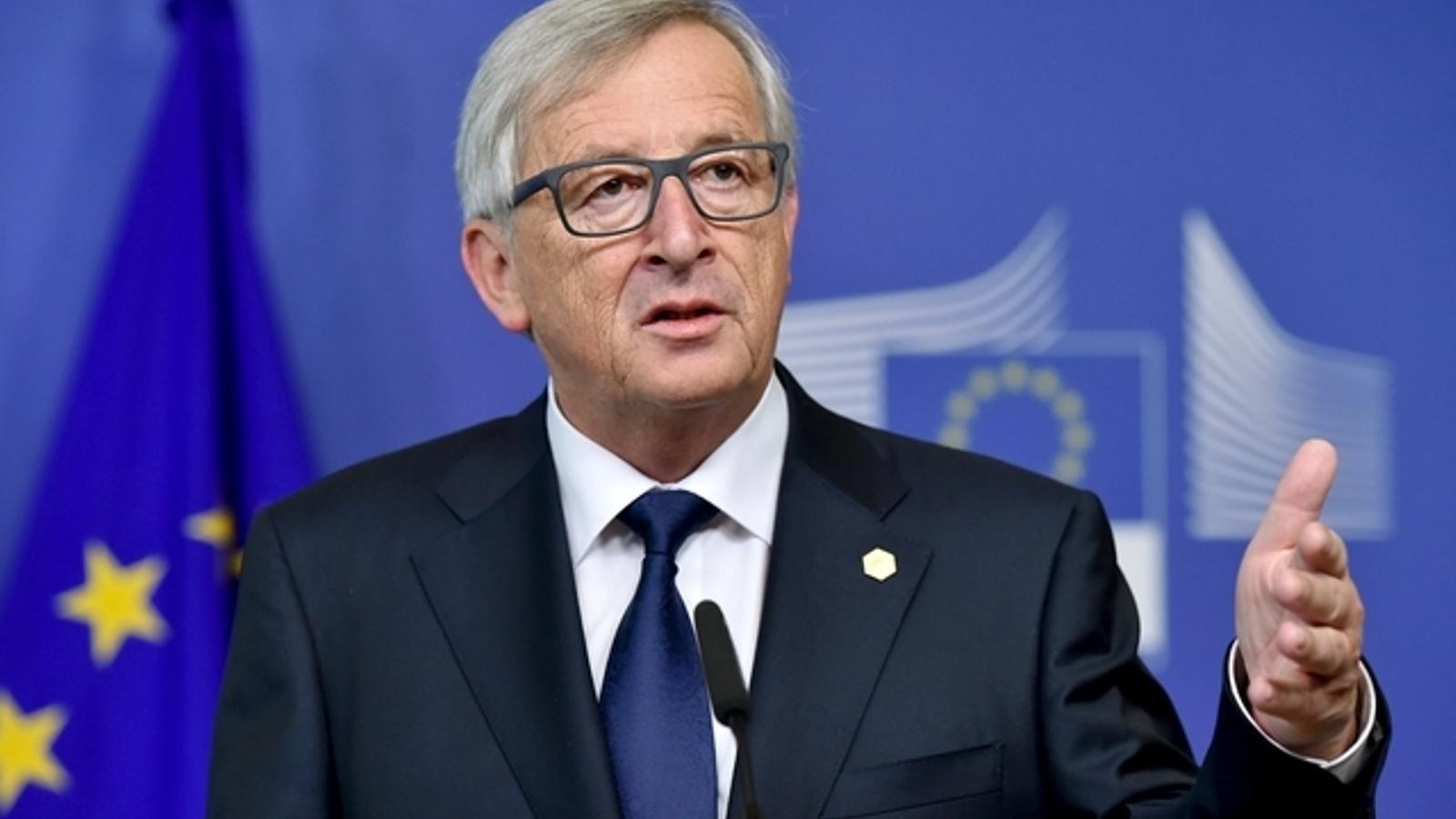 El president de la Comissió Europea, Jean-Claude Juncker, en una imatge d'arxiu.