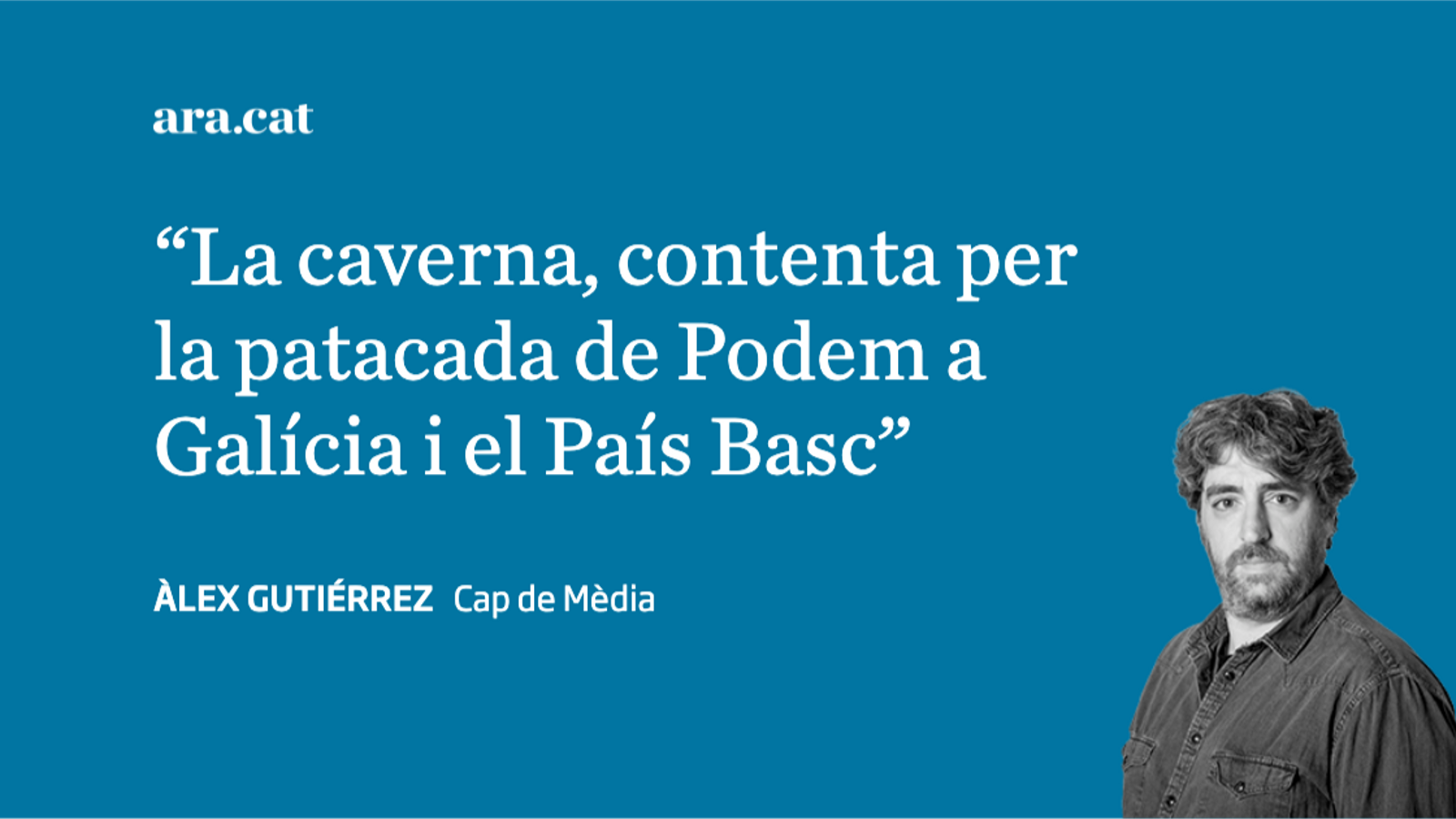 'La Razón', aquell culer que celebra el descens de l'Espanyol