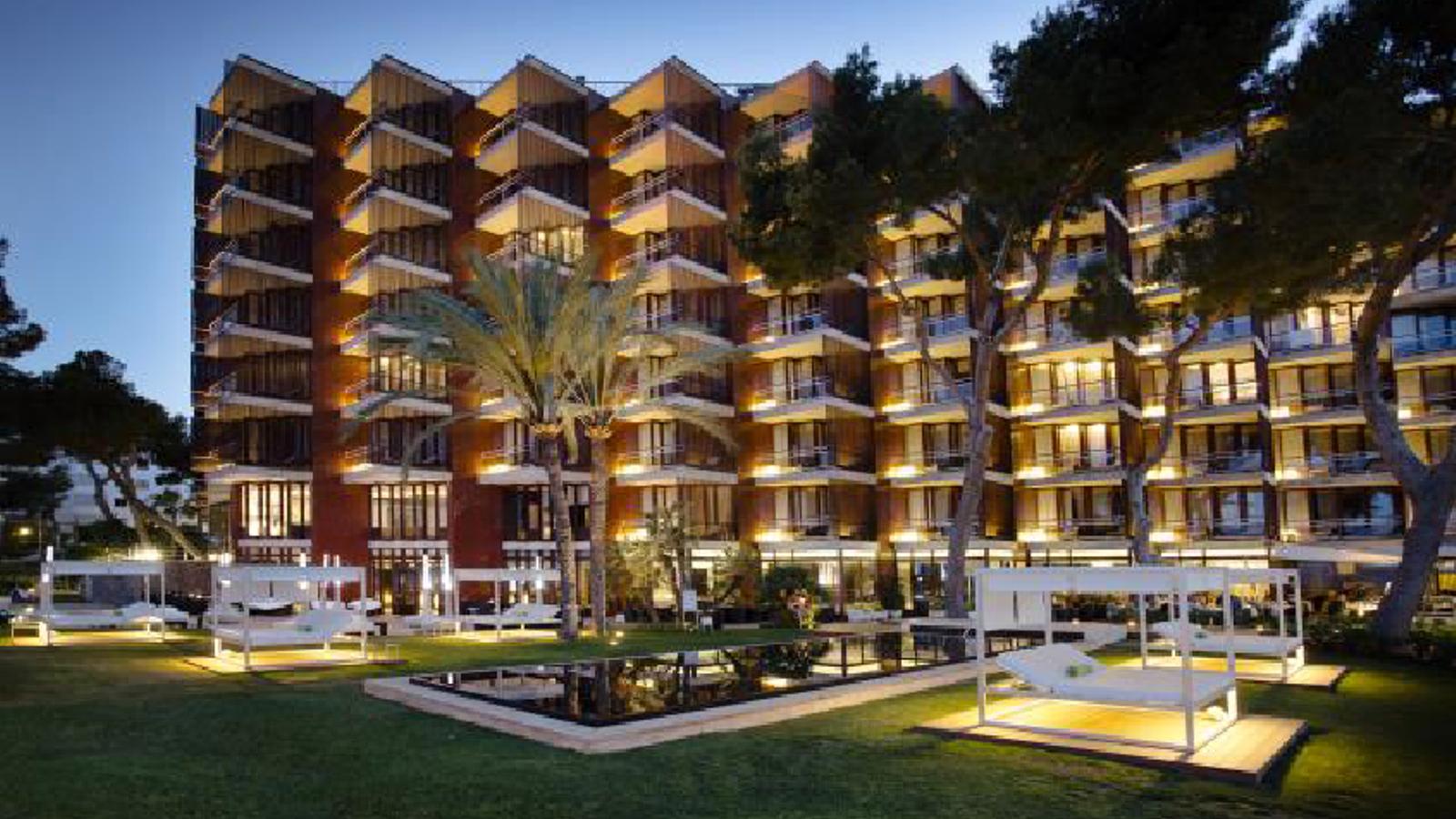 L'hotel Meliá de Mar.